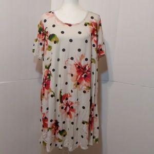 Lillypad  Floral Print Dress XL